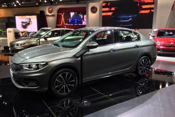Fiat представил седан Tipo