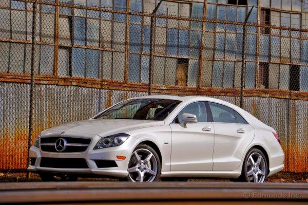 Неофициальная иллюстрация Mercedes-Benz CLС