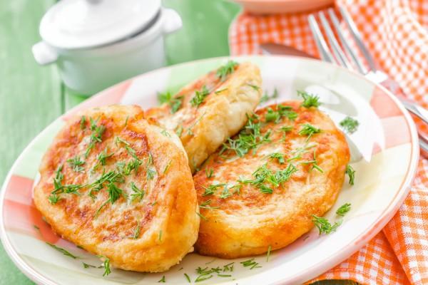 Рецепт                  Зразы с мясом и грибами