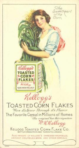 Реклама Kellogg's Corn Flakes