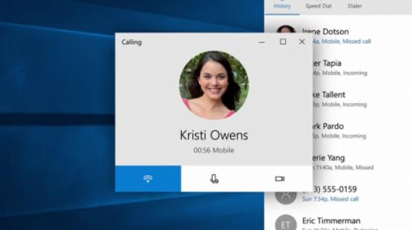 Отвечать на звонки можно будет прямо с компьютера на Windows 10