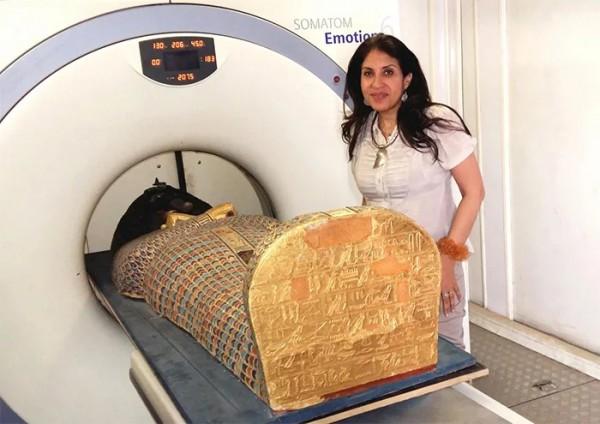 Мумиям тоже делают томографию