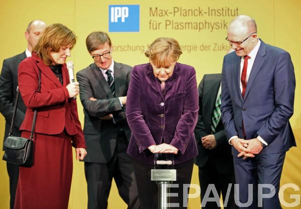 Меркель запустила термоядерный реактор