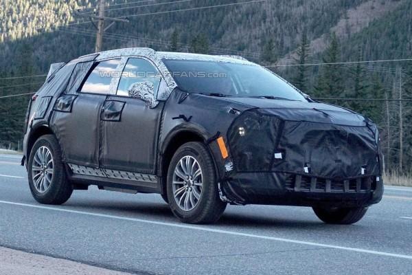 Cadillac XT5 представят этой осенью