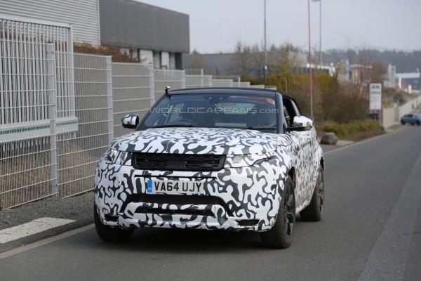 Тесты Range Rover Evoque Cabrio