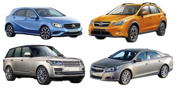Одни и те же авто могут быть представлены в разных номинациях