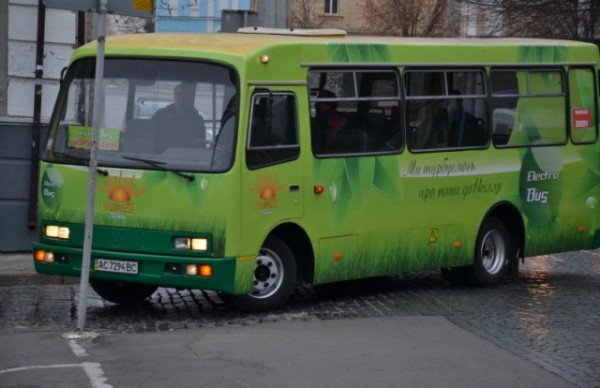 Луцкий электробус