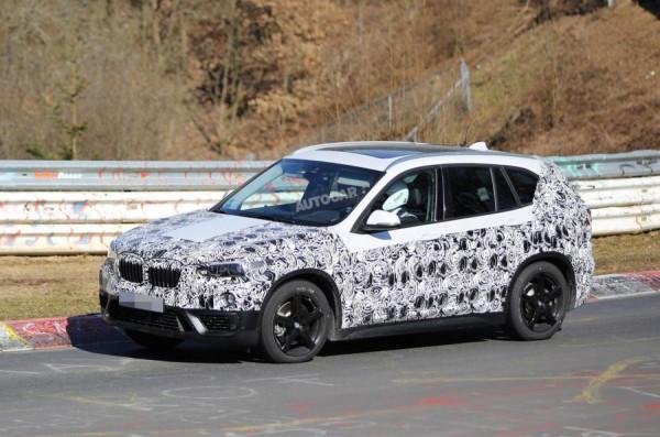 BMW X1 второго поколения дебютирует летом 2015 года