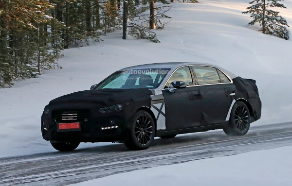 Новый Hyundai Equus на тестах