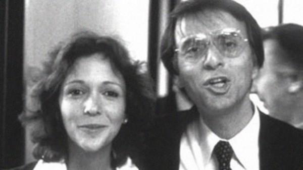 Энн Друян и Карл Саган. Мысли Друян первыми в мире покинули Солнечную систему