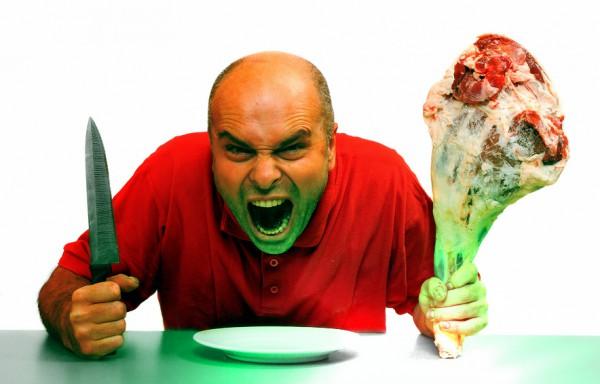 Брутальная разделка мяса тоже сжигает дополнительные калории