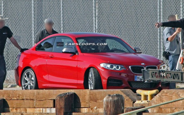 BMW M235i. Шпионское фото