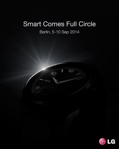 Тизерная реклама новых часов LG