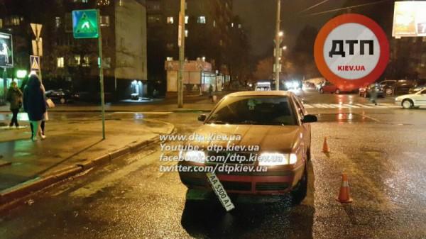 Skoda сбила пешехода