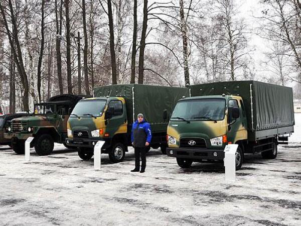 Армия получит новые грузовики
