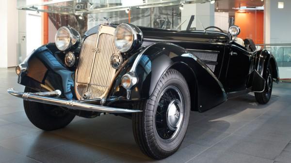 Horch 855 Special-Roadster в музее Audi. У Януковича был такой же