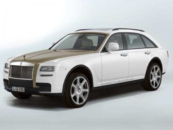 Кроссовер Rolls-Royce. Неофициальная иллюстрация