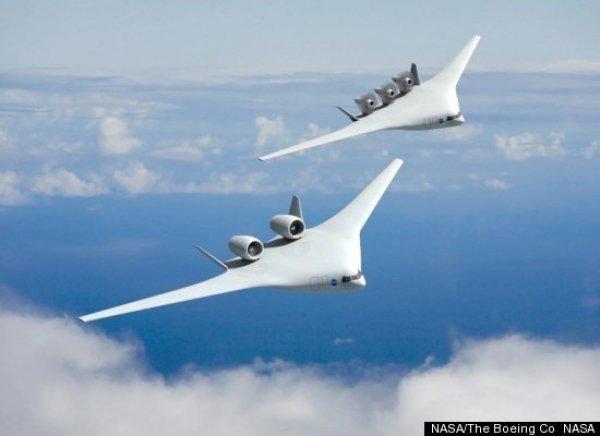 Nasa показала самолеты будущего