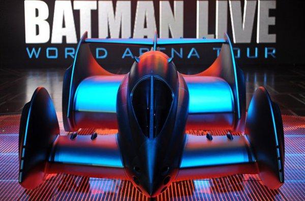 Бэтмобиль Мюррея покажут 19 июня по британскому ТВ на шоу Batman Live