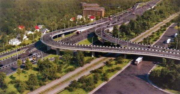 Многоуровневую развязку планируется открыть в ноябре 2011 года