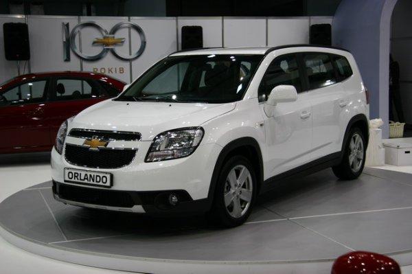 Chevrolet Orlando на SIA 2011