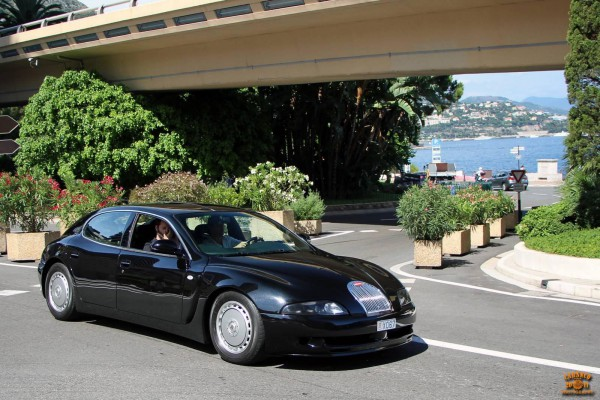 Редчайший Bugatti EB112