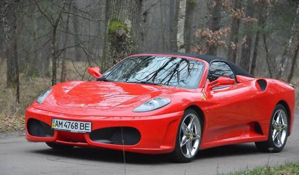 Копия Ferrari F430 Spider стоит 60 тысяч долларов