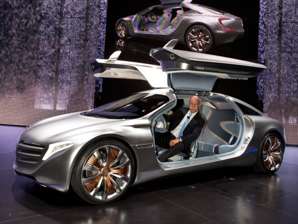 Концепт Mercedes F125