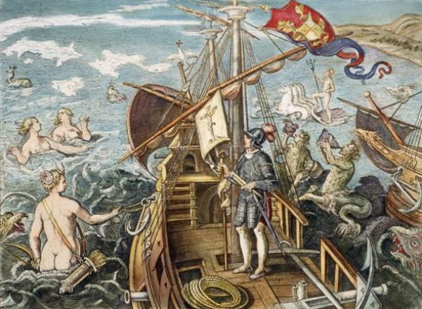 Колумб первым из европейцев побывал в Венесуэле