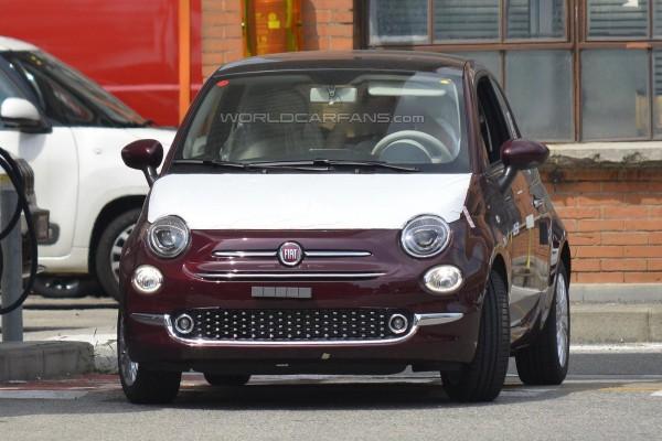 Обновленная версия хэтчбека Fiat 500