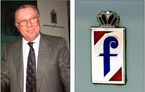 Серджио Пининфарина и логотип его компании