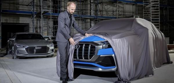 Будущий кроссовер Audi Q8