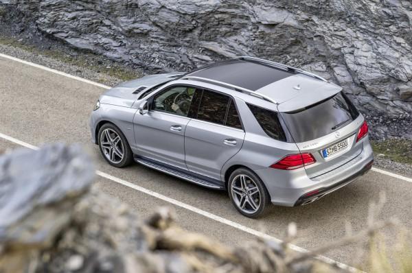 Обновленный Mercedes-Benz GLE