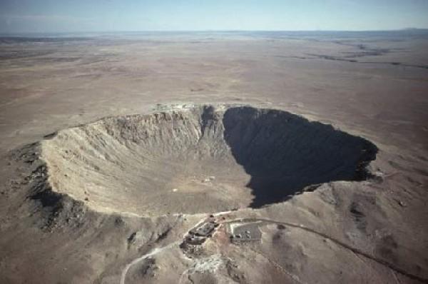 На Земле известны все огромные кратеры