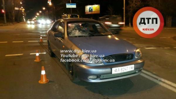 Daewoo сбила пешехода