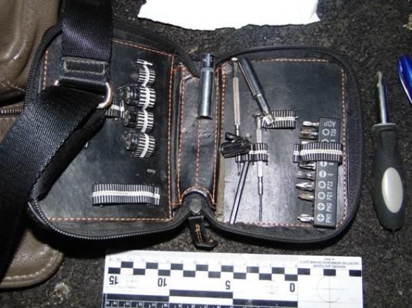 Преступника схватили на горячем вместе с вещественным доказательствами.