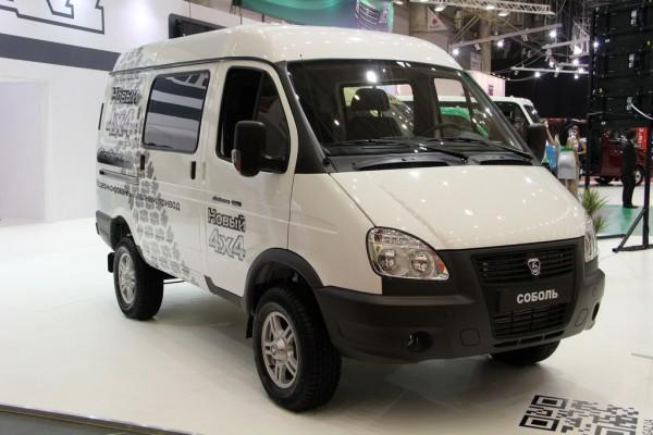 SIA 2013: Соболь-БИЗНЕС. Грузопассажирский фургон (ГАЗ 27527-365)