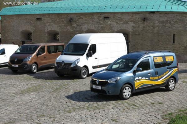 Коммерческие авто от Renault