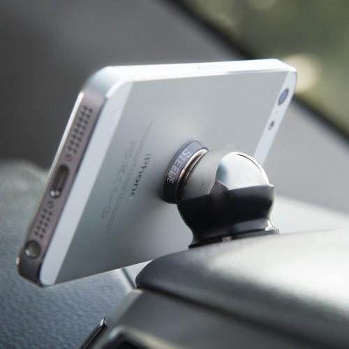 Magnetics означает, что этот автодержатель будет надежно удерживать его на гибком шарнире.