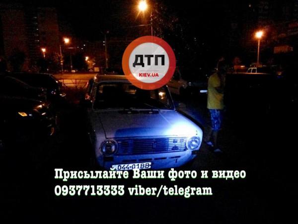 Нарушение ПДД в Киеве