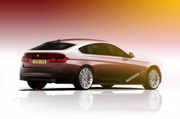 Иллюстрация BMW 3-Series GT от Autocar