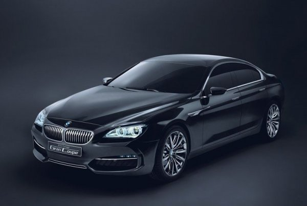 Концепт BMW Gran Coupe 2010 года
