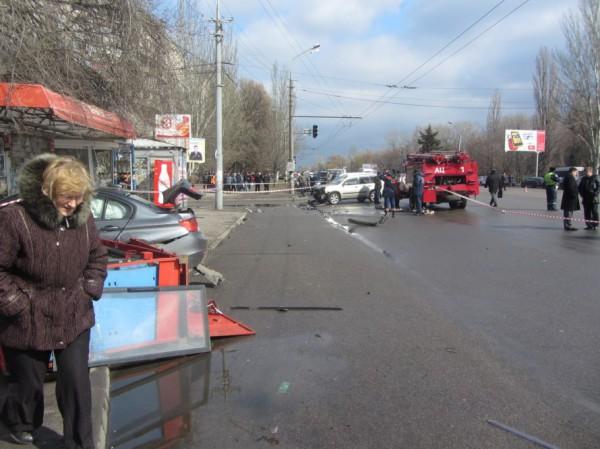 Авария в Днепропетровске произошла в