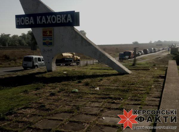 Пробка из-за аварии растянулась до 3 км
