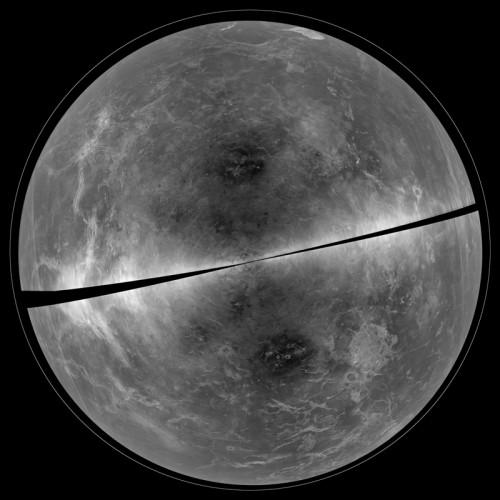 Полный снимок Венеры