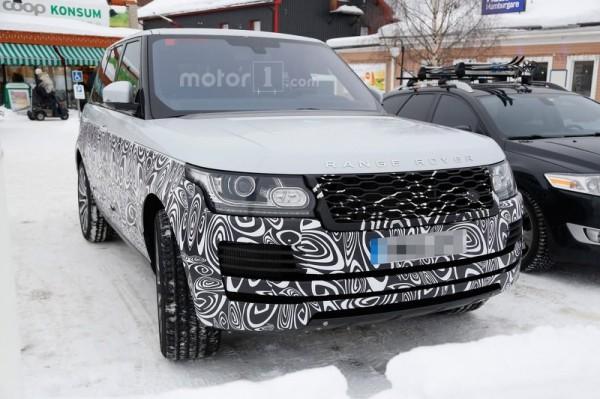 Обновленный внедорожник Range Rover Sport