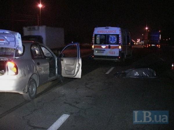 Daewoo сбил насмерть пешехода-нарушителя