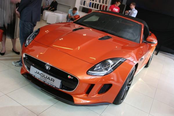 Jaguar F-Type. Украинская премьера