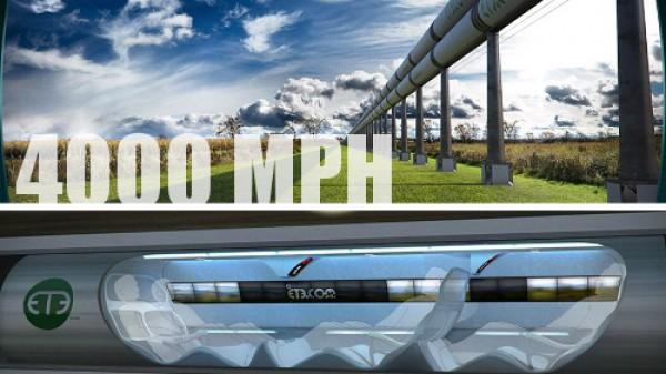 Теоретически, капсула может разгоняться до более чем 6400 км/ч