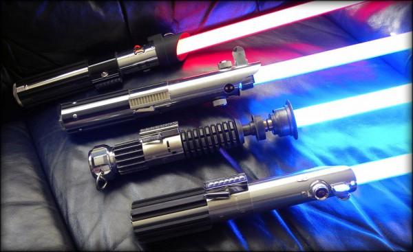 Лазерное меч своими руками